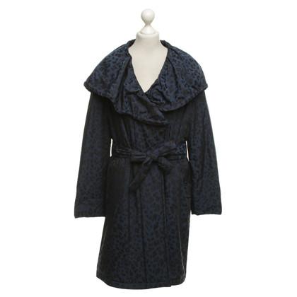 Escada Coat with black pattern