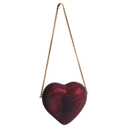Judith Leiber Heart 'n Soul Sequin Clutch Bag