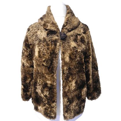 Riani Giacca di pelliccia Web Brown