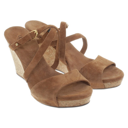 UGG Australia Wedge heel sandals in Brown