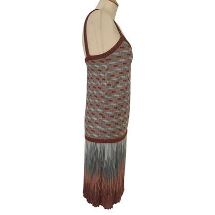 Missoni Abito in maglia con filo d'argento