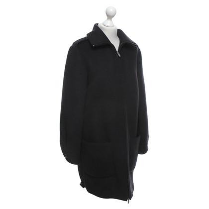 Blumarine manteau de feutre en regard surdimensionné