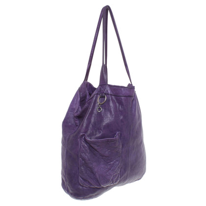 Marc Cain Tote Bag in violet