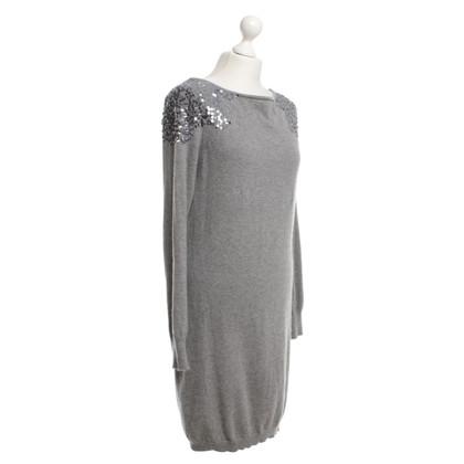 Hemisphere robe en cachemire gris