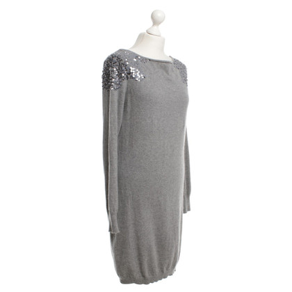 Hemisphere abito cashmere in grigio