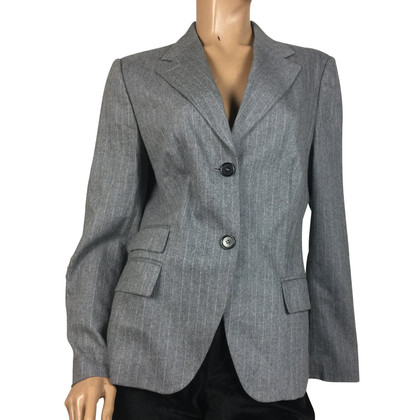 René Lezard Striped blazer