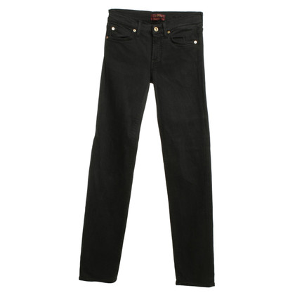 7 For All Mankind Jeans en noir
