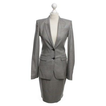 Hugo Boss Costume with glen check pattern