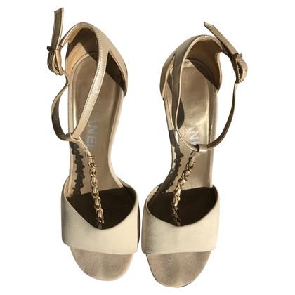 Chanel Sandals in beige