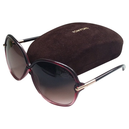 Tom Ford Übergroße Sonnenbrille
