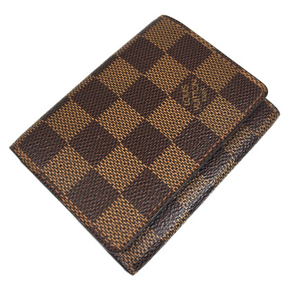 Louis Vuitton Credit Card Damier Ebene Canvas