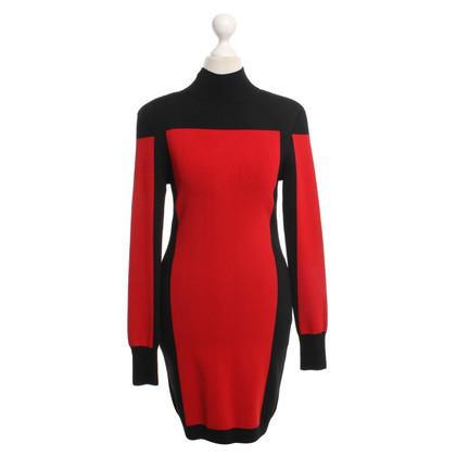 Balmain X H&M Jurk in rood / zwart