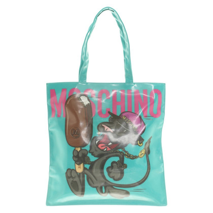 Moschino Tote Bag in green