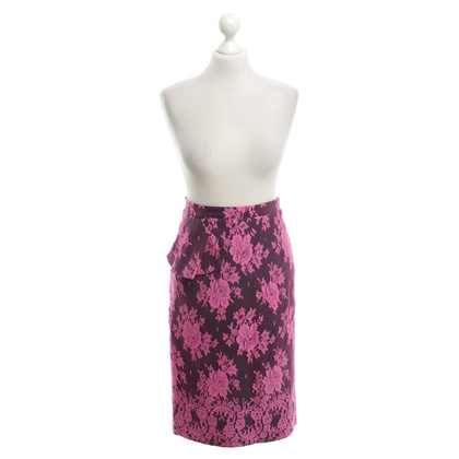 Erdem Top skirt in pink