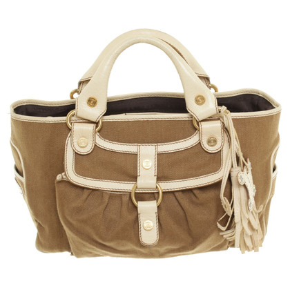 Céline Handbag with material mix
