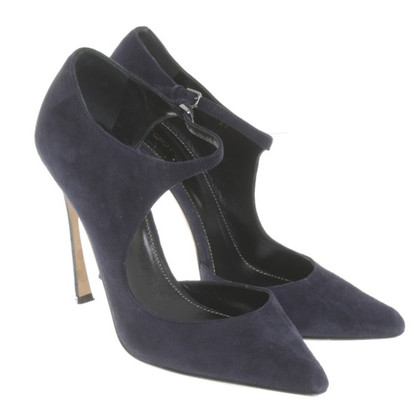 Sergio Rossi Pumps in Nachtblau