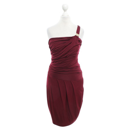 Elisabetta Franchi Burgundy cocktail dress