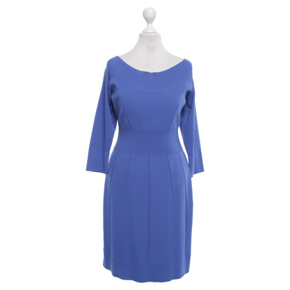 Versace Knitted dress in blue
