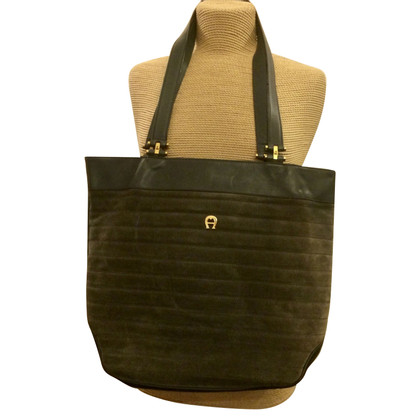 Aigner Handbag made of leather mix
