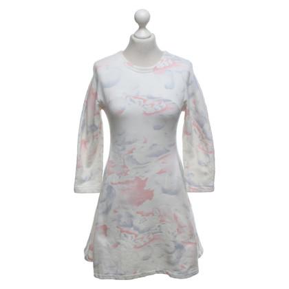 Kenzo Robe en coton de couleur pastel
