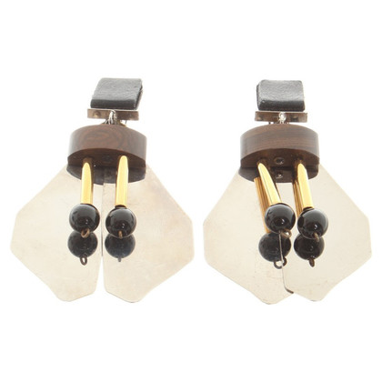 Marni Earclips with pendants