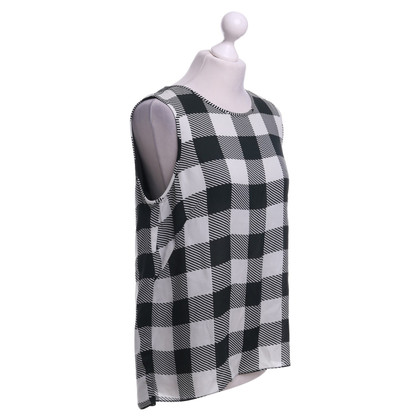 Rag & Bone top with checked pattern