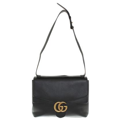 """Gucci """"GG Marmont Schouder Bag"""" in zwart"""