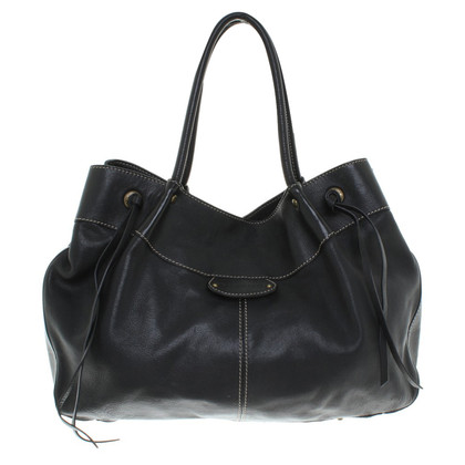 Coccinelle Leather handbag in black