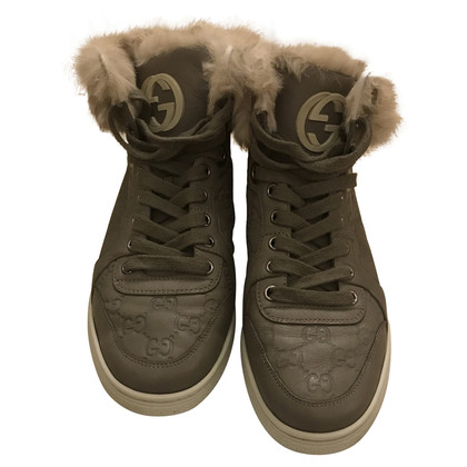 Gucci Sneaker met bontrand