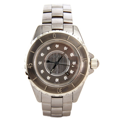 Chanel J12 TITANIUM 33 DIAMONDS