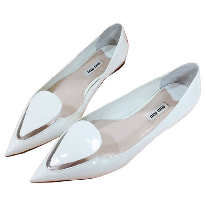 Miu Miu Patent leather ballet flats