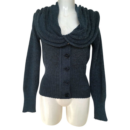 Hugo Boss Strickjacke in Blau