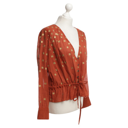 House of Harlow Blouse in orange