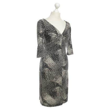 Diane von Furstenberg Vestito in bianco e nero