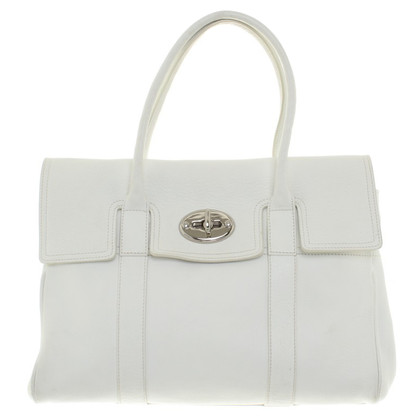 Mulberry Handbag in white