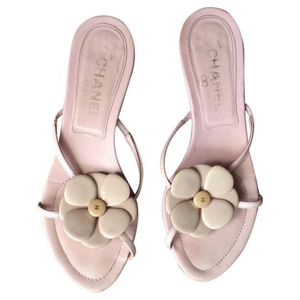 Chanel Sandalen mit Kamelie