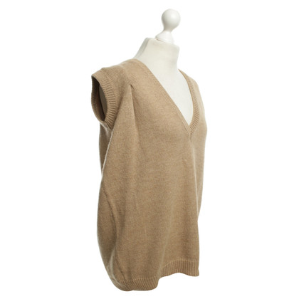 Balenciaga Knitting top in Light Brown