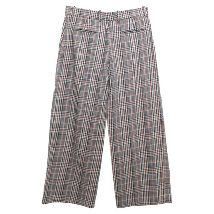Joseph trousers with checked pattern