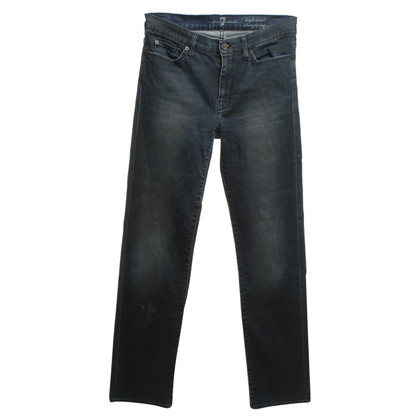 7 For All Mankind jean Highwaist avec lavage