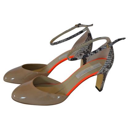 Stella McCartney Sandales en matériaux mélangés