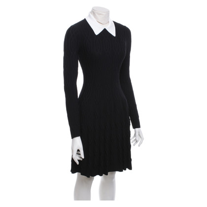 Sandro Dress in black and white