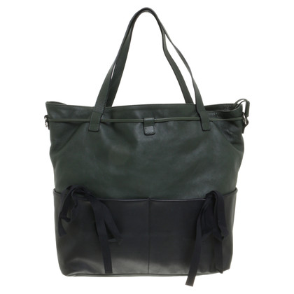 Marni totebag in black and green