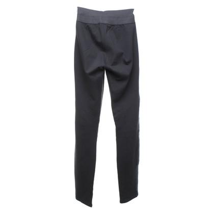 Paige Jeans Pantaloni con rifiniture in pelle