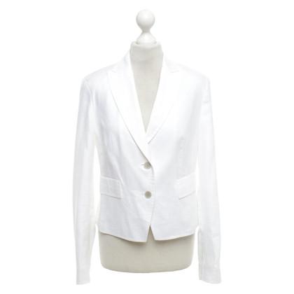 St. Emile Linen blazer in white