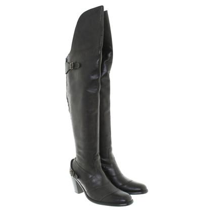 Belstaff Stivali in pelle in nero