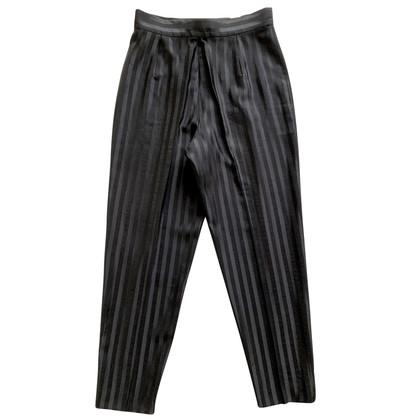 Christian Dior Pantaloni a righe