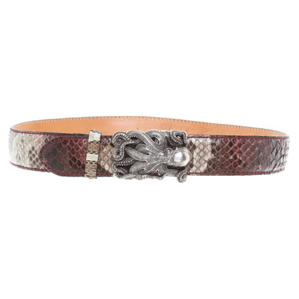 Reptile's House Reptile leather belt