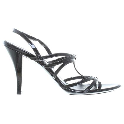 Hugo Boss Lakleder sandalen