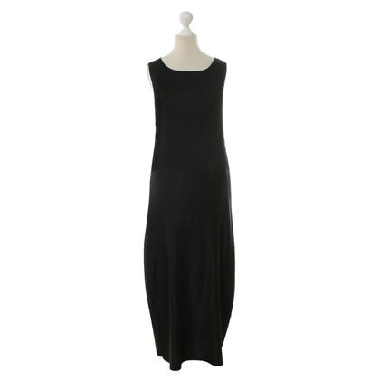 Issey Miyake Maxi jurk in zwart