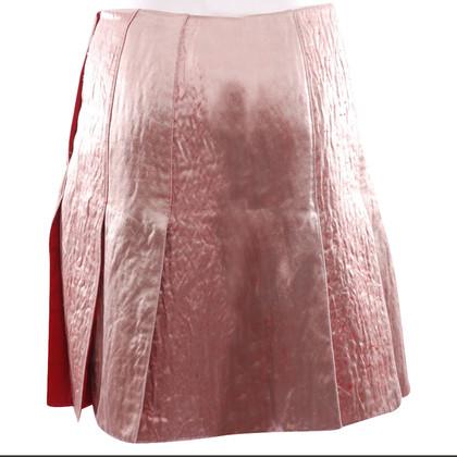 Prada Velvet rok in Rosé